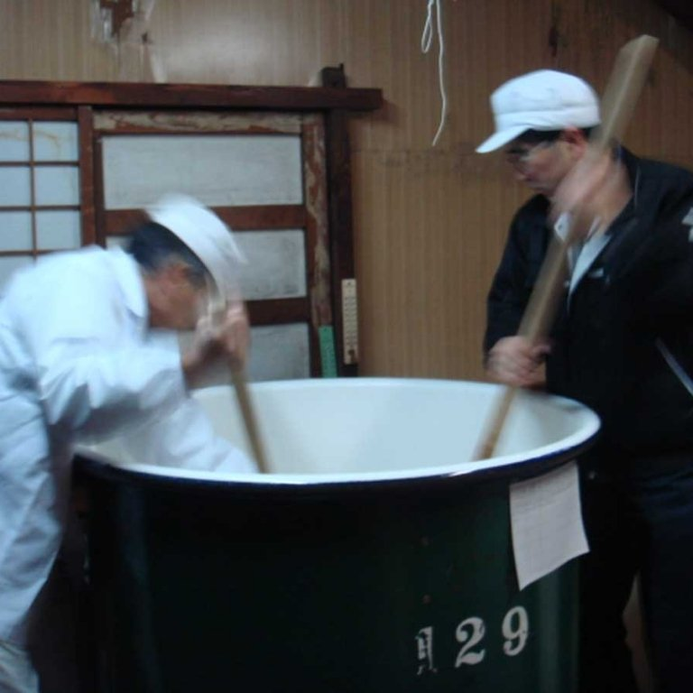 Rice-Pounding